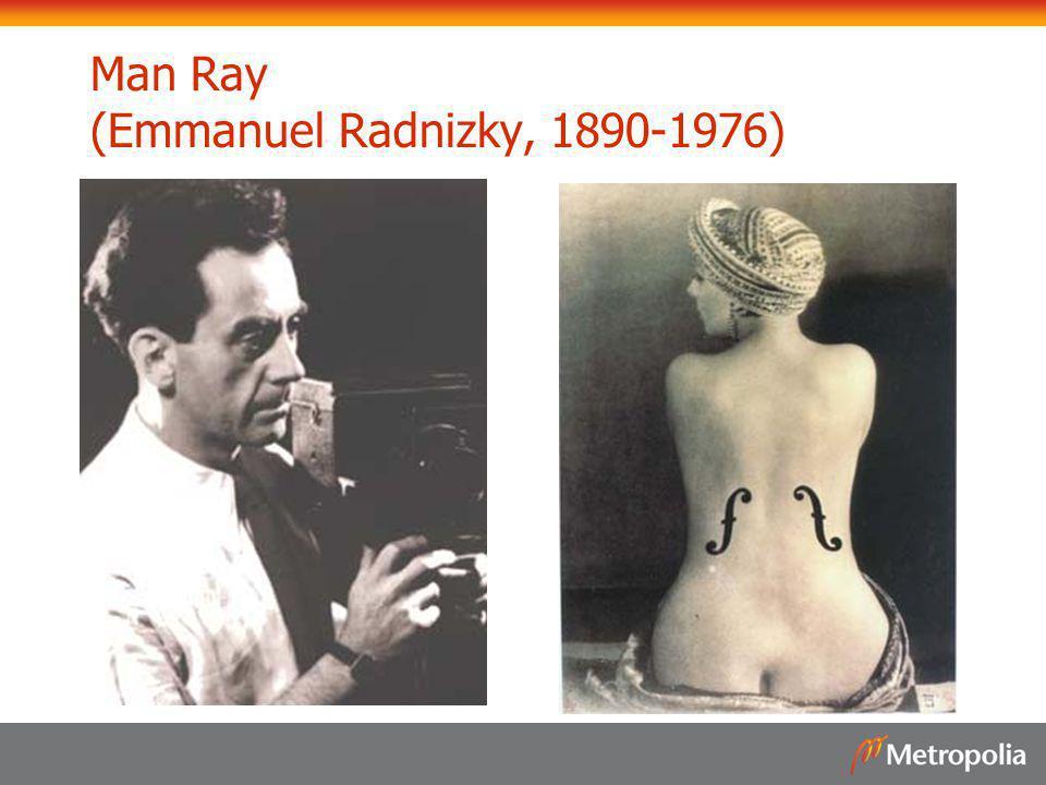 Man Ray (Emmanuel Radnizky, 1890-1976)