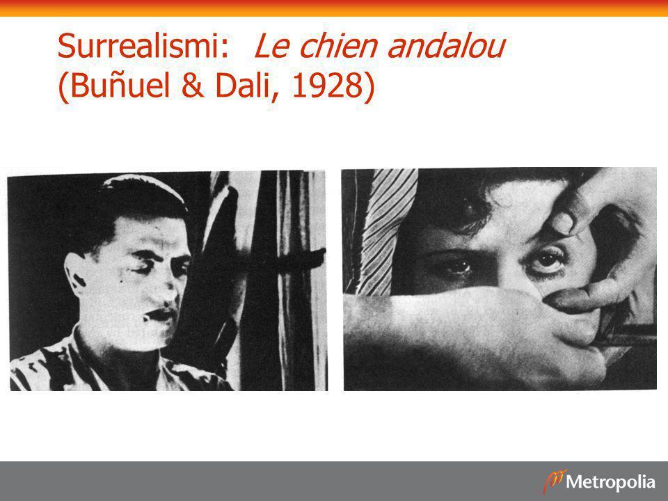 Surrealismi: Le chien andalou (Buñuel & Dali, 1928)