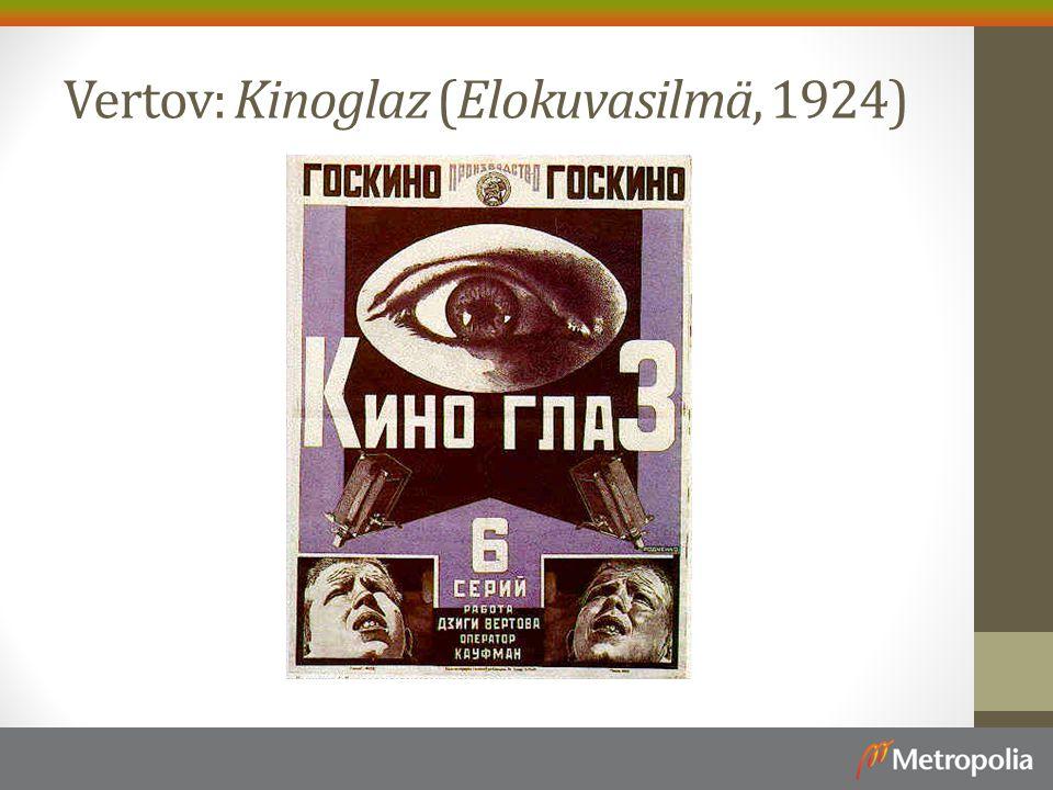 Vertov: Kinoglaz (Elokuvasilmä, 1924)