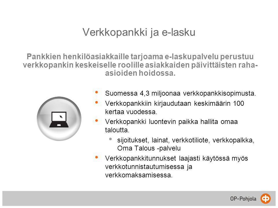 Verkkopankki ja e-lasku