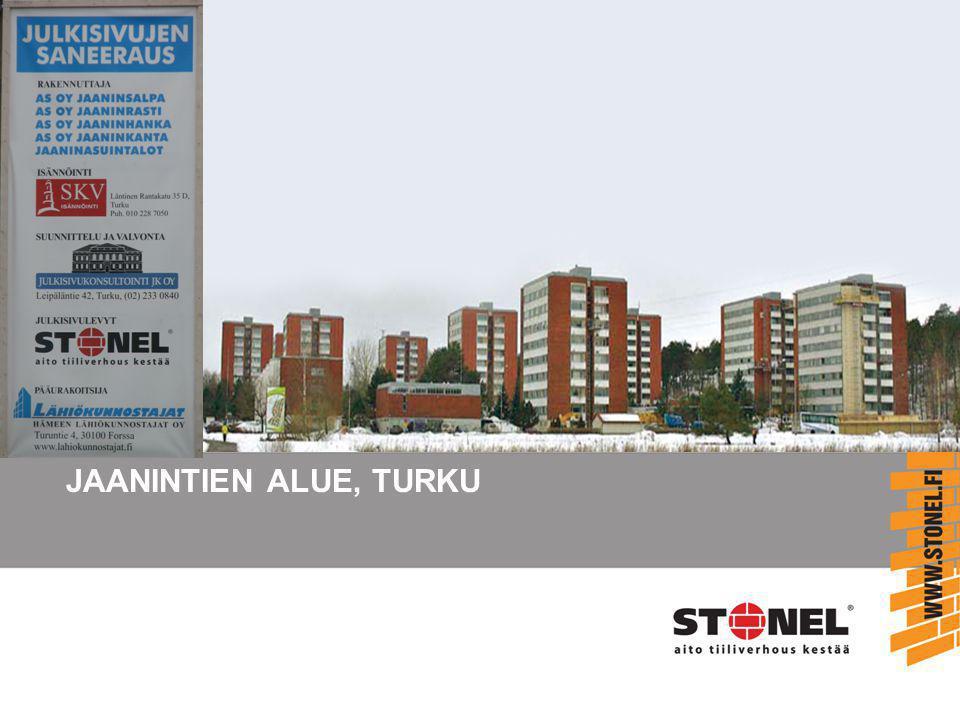 JAANINTIEN ALUE, TURKU