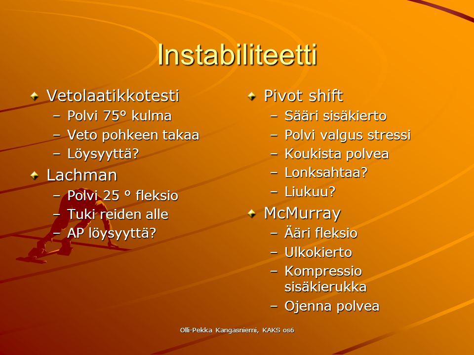 Olli-Pekka Kangasniemi, KAKS os6