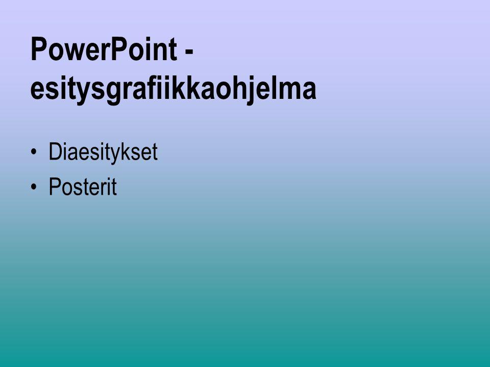 PowerPoint -esitysgrafiikkaohjelma