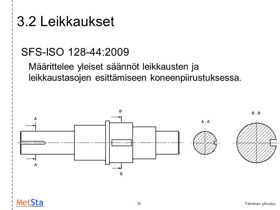 3.2 Leikkaukset SFS-ISO 128-44:2009