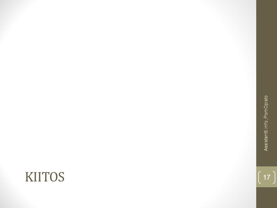 Assistentti.info, PomOpisto