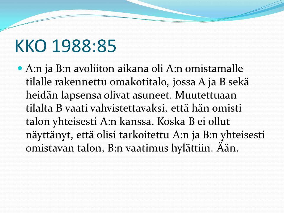KKO 1988:85