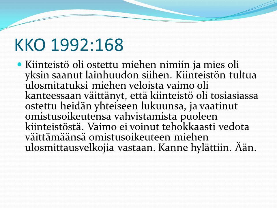 KKO 1992:168