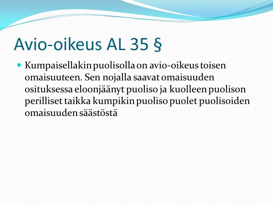 Avio-oikeus AL 35 §