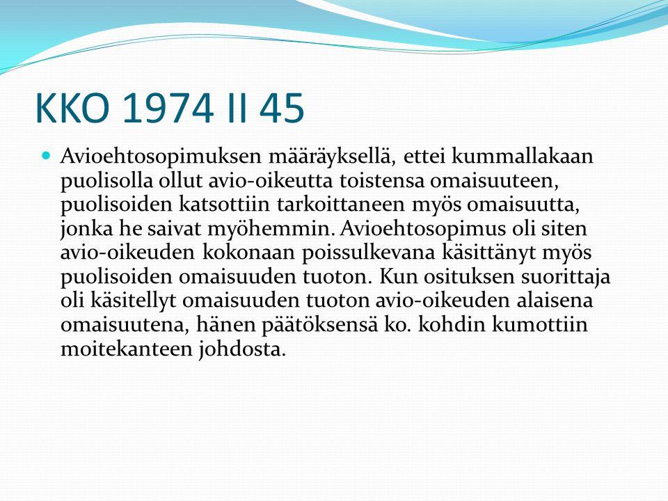 KKO 1974 II 45