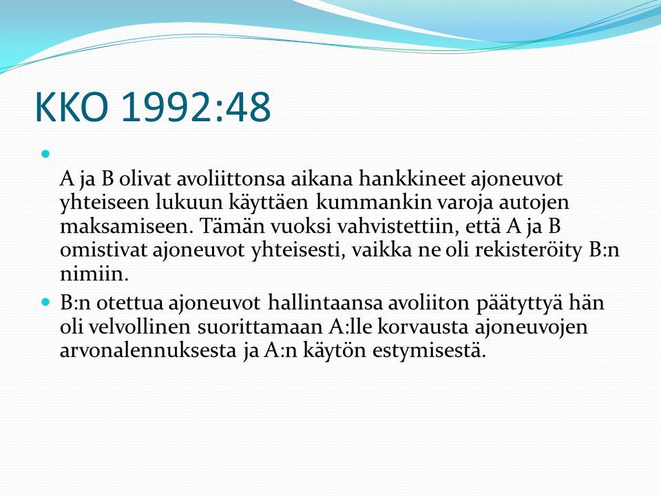 KKO 1992:48