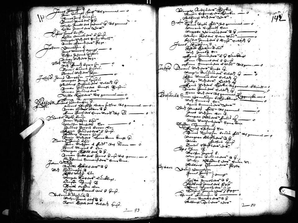 Läänintilit 1635-1809 Henkikirjat (Mantdalslängd) 1634