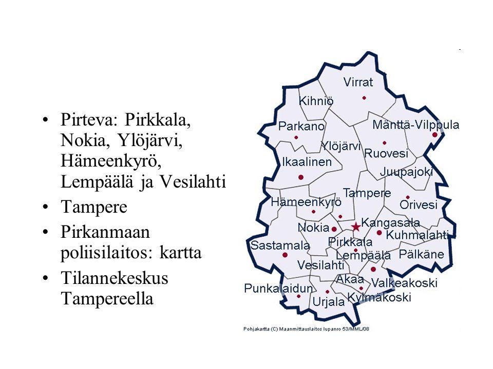 Ylöjärvi kartta