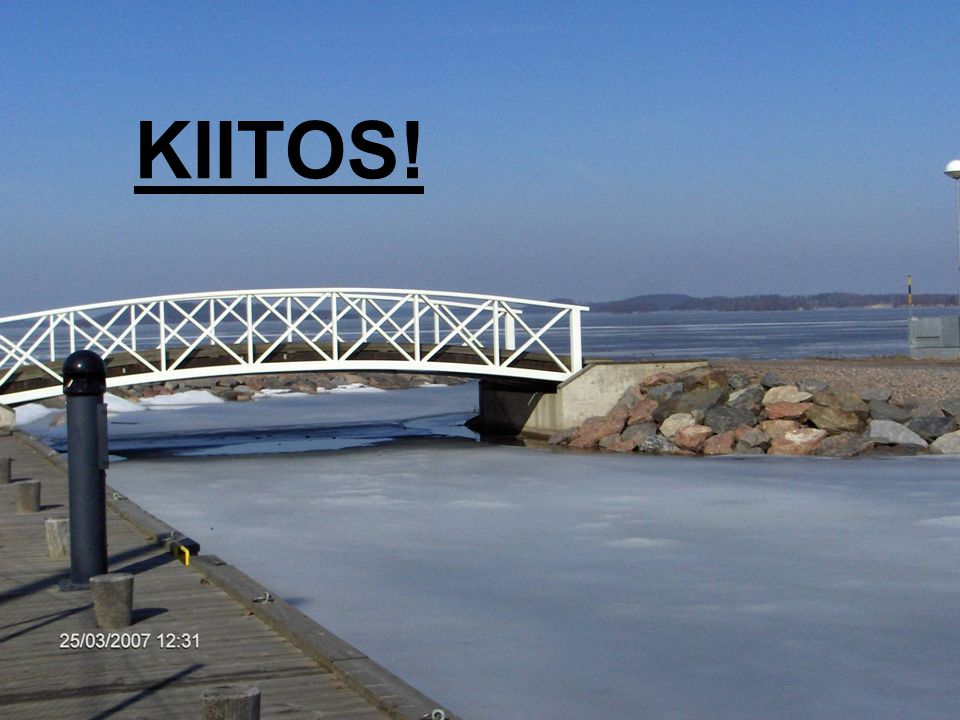 KIITOS! Marjut Komulainen / 14.10.2011