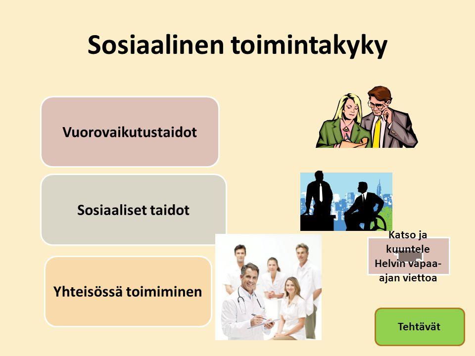 Sosiaalinen toimintakyky