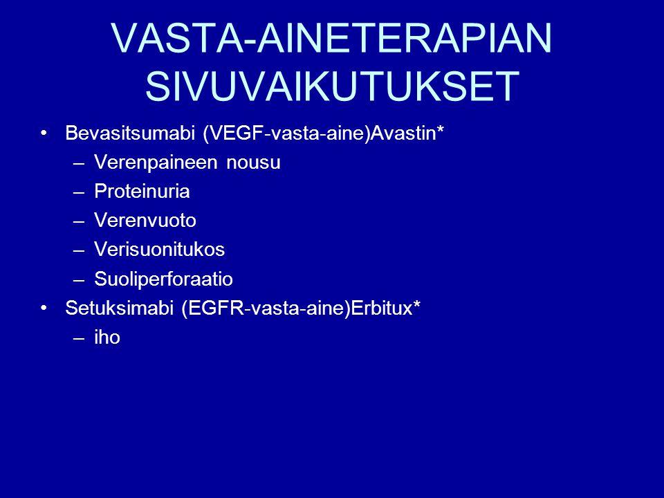 VASTA-AINETERAPIAN SIVUVAIKUTUKSET