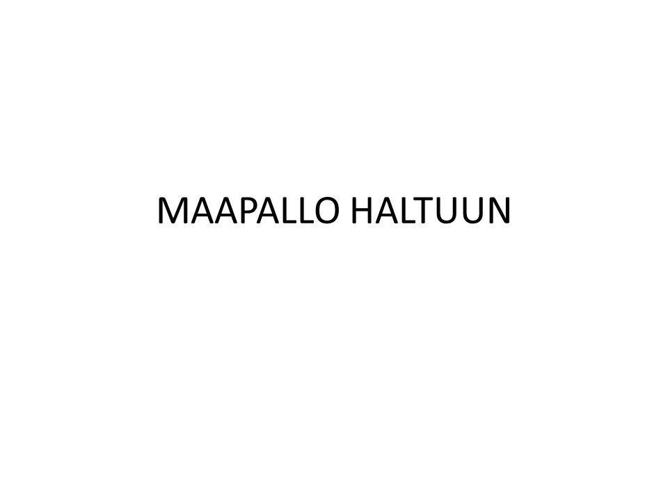 MAAPALLO HALTUUN