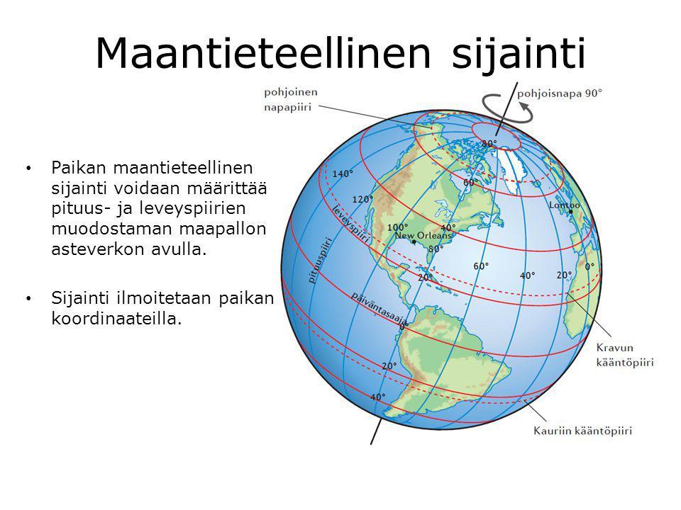 Maantieteellinen sijainti