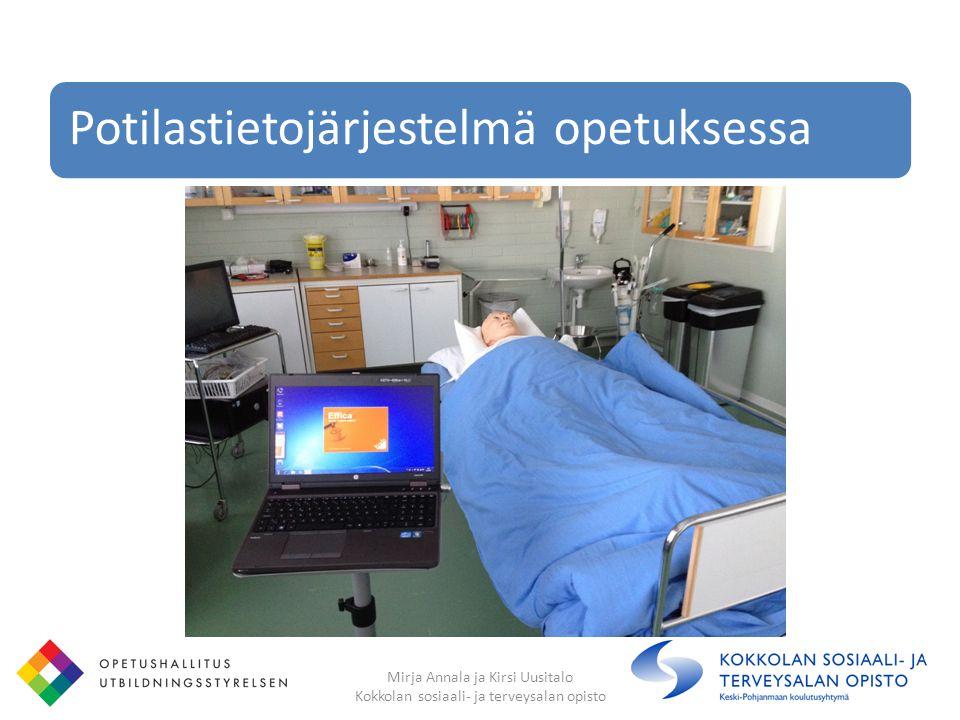 Potilastietojärjestelmä opetuksessa