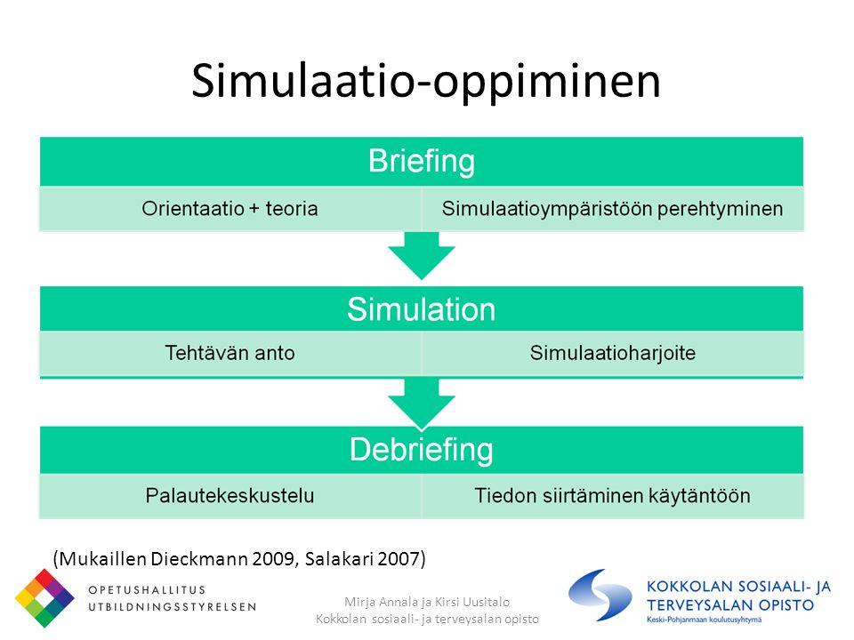 Simulaatio-oppiminen