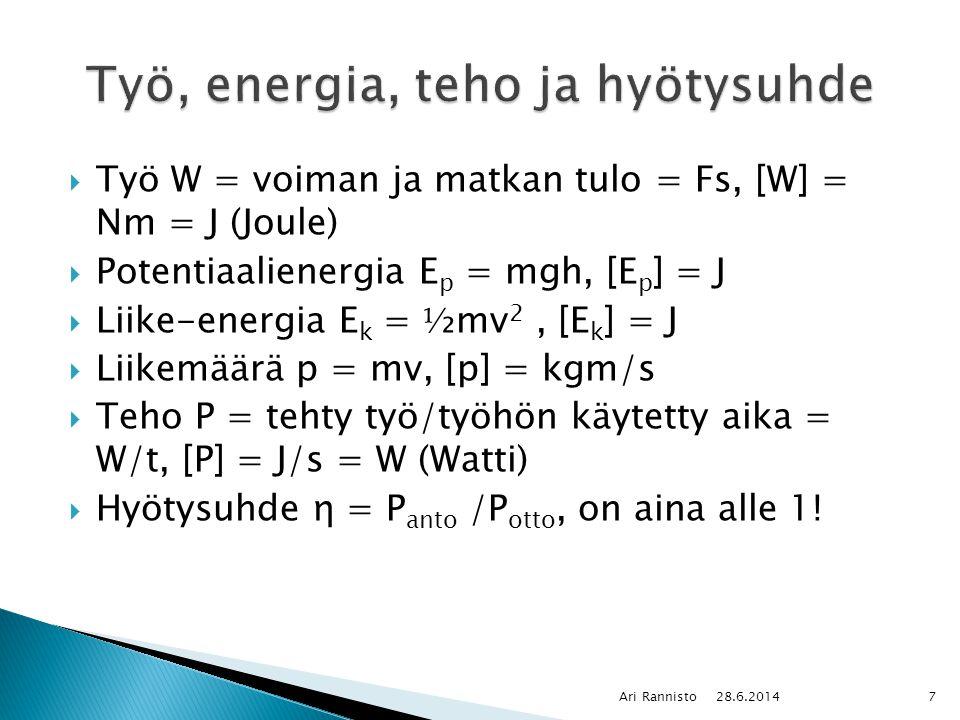 Teho fysiikka