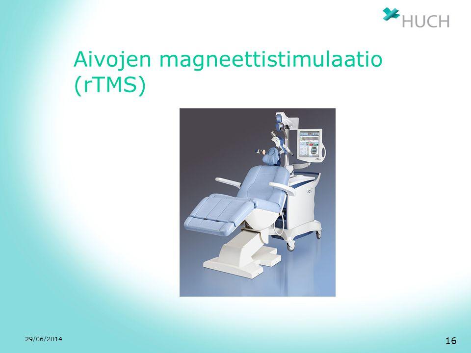 Aivojen magneettistimulaatio (rTMS)