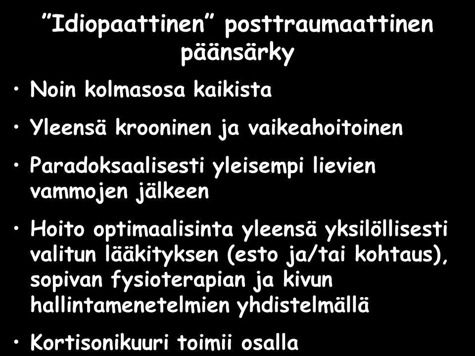 Idiopaattinen posttraumaattinen päänsärky