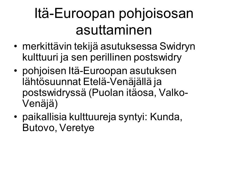 Itä-Euroopan pohjoisosan asuttaminen