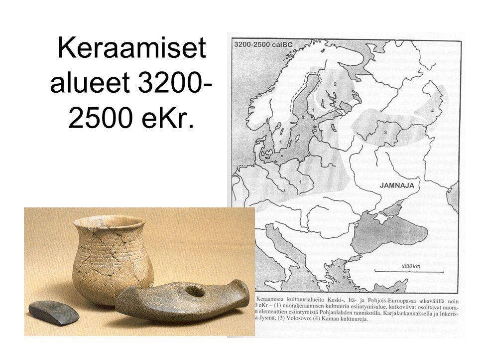 Keraamiset alueet 3200-2500 eKr.