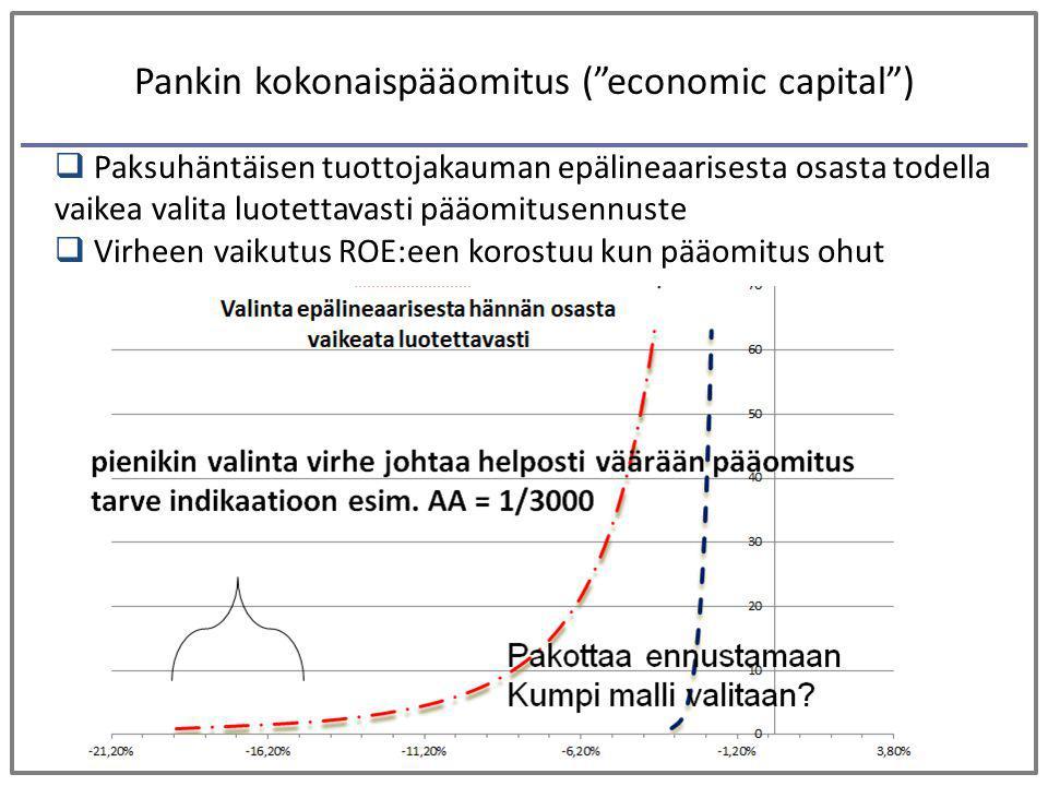 Pankin kokonaispääomitus ( economic capital )