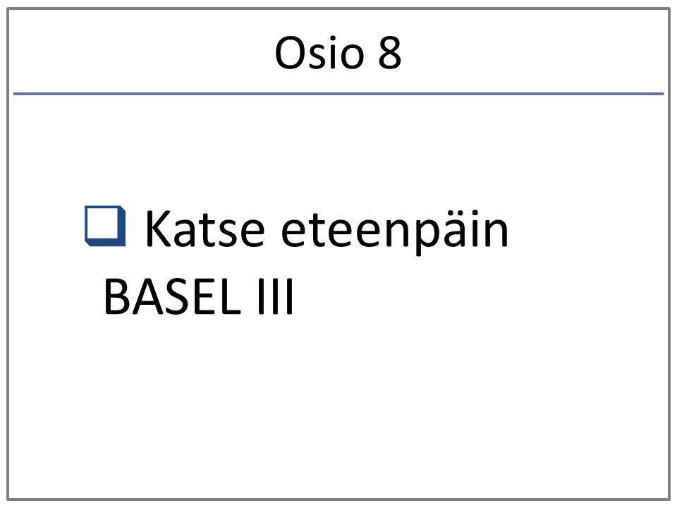 Katse eteenpäin BASEL III