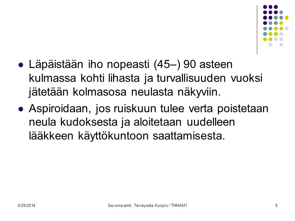 Savonia-amk, Terveysala Kuopio / THHAM1