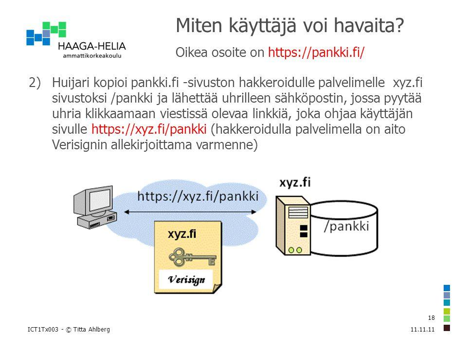Salattu selainyhteys HTTPS-protokolla eli SSL/TLS-salaus - ppt lataa