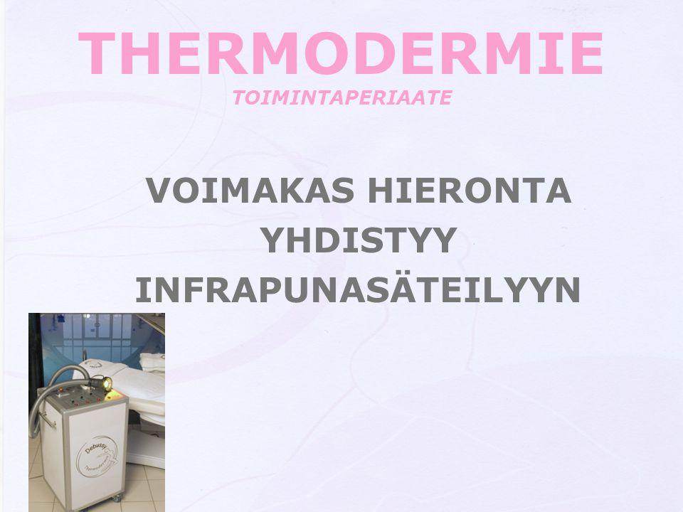 THERMODERMIE TOIMINTAPERIAATE