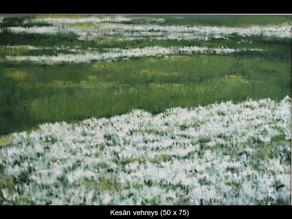 Kesän vehreys (50 x 75)