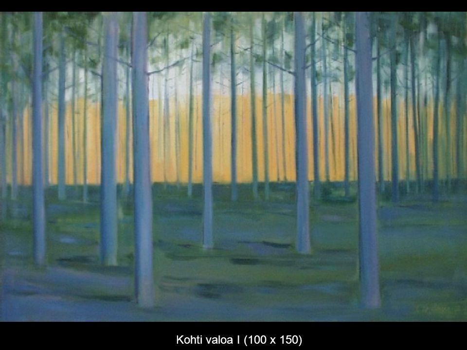 Kohti valoa I (100 x 150)