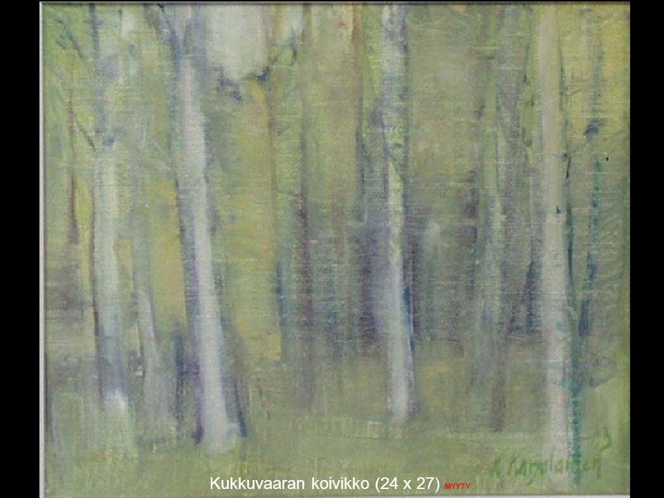Kukkuvaaran koivikko (24 x 27) MYYTY