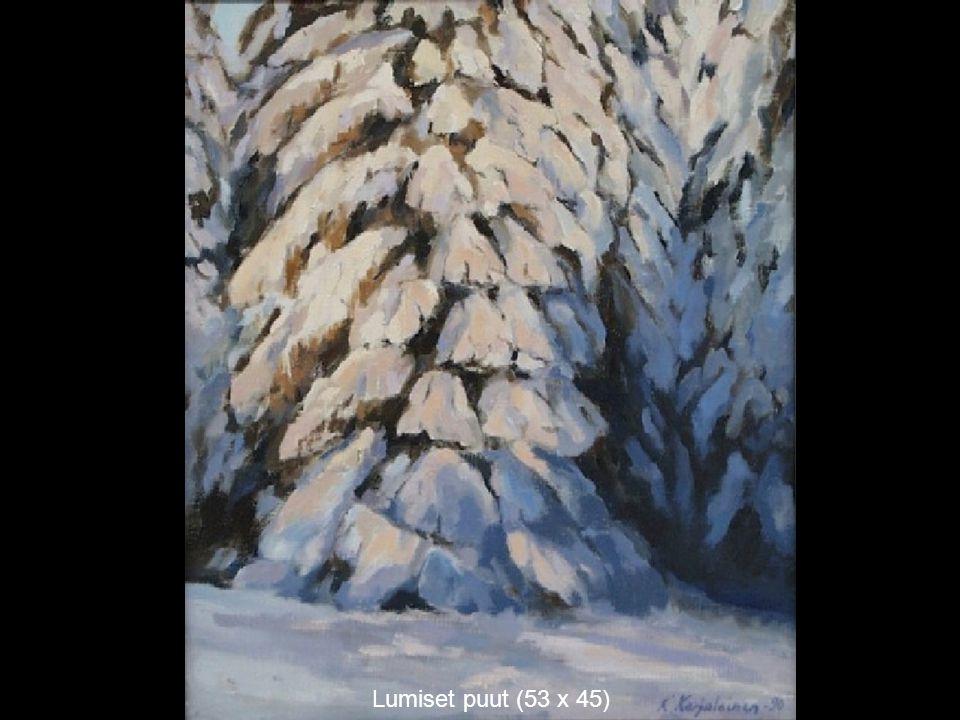 Lumiset puut (53 x 45)