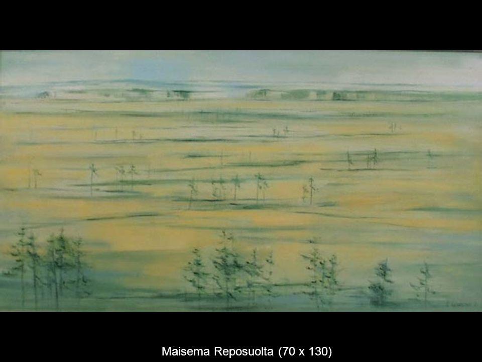 Maisema Reposuolta (70 x 130)