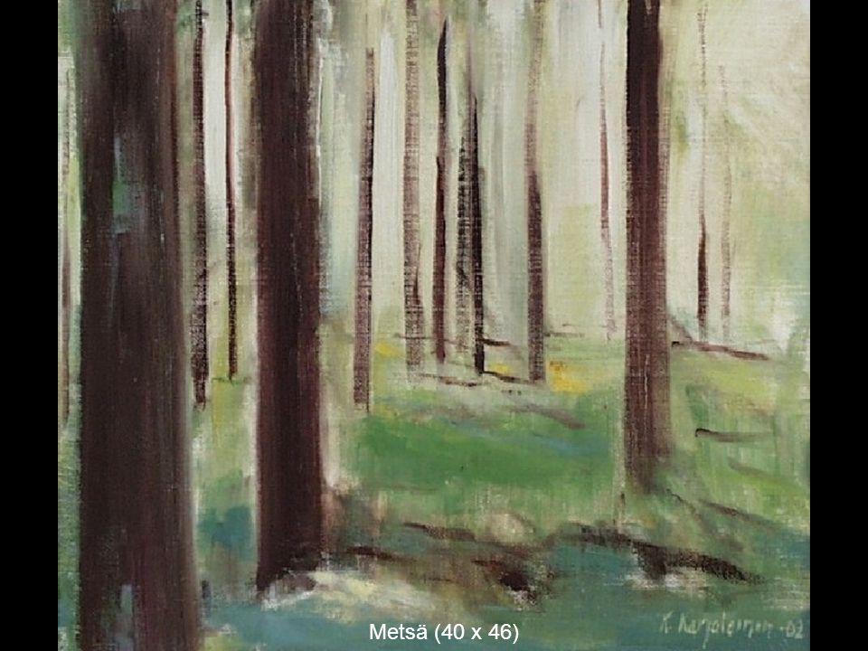 Metsä (40 x 46)