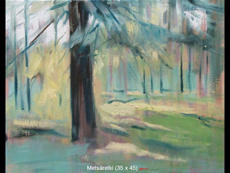 Metsäretki (35 x 45) MYYTY