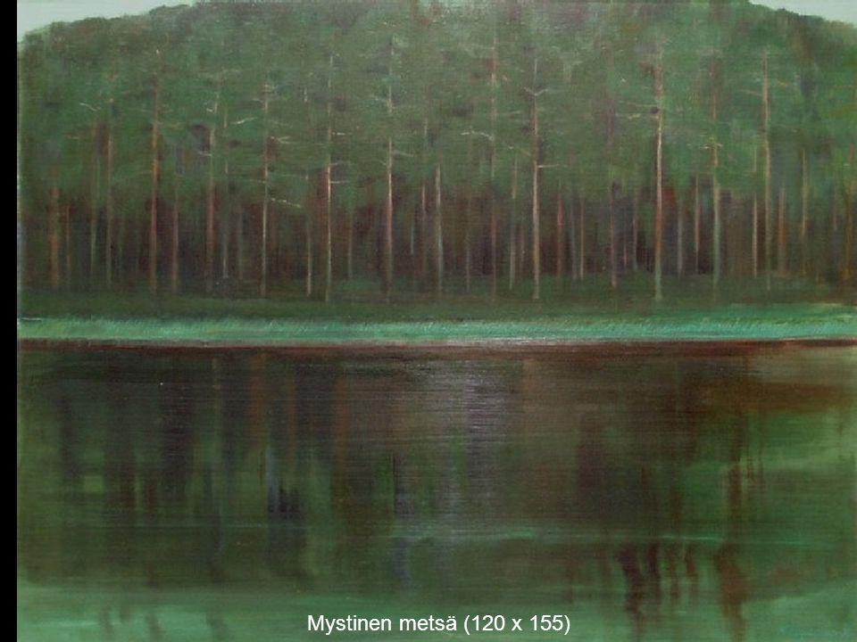 Mystinen metsä (120 x 155)
