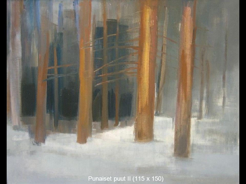 Punaiset puut II (115 x 150)