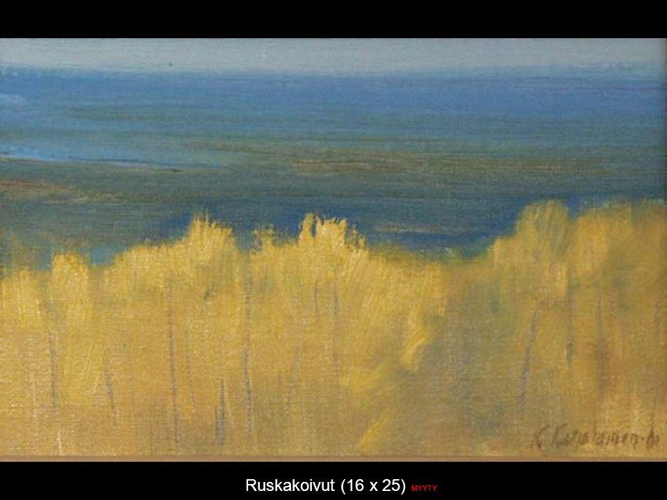 Ruskakoivut (16 x 25) MYYTY