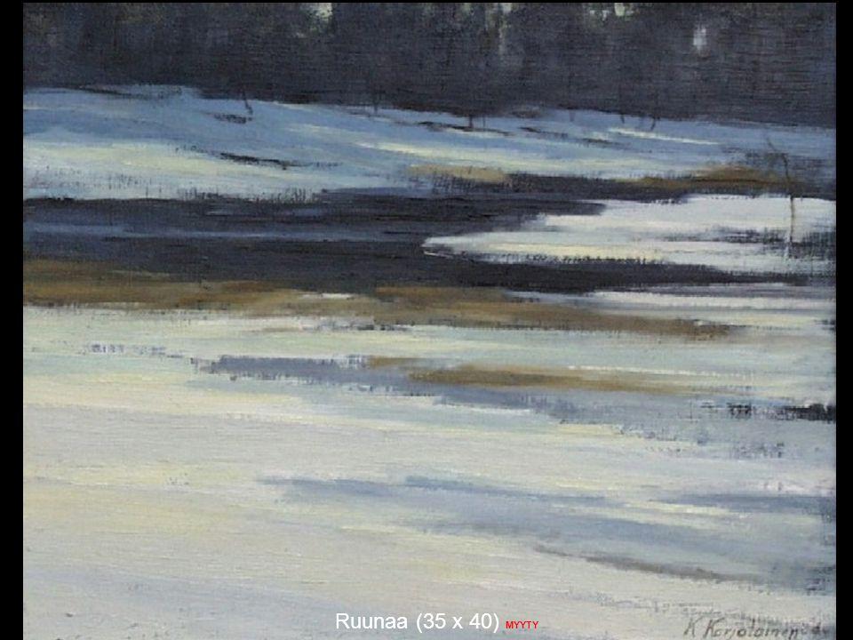 Ruunaa (35 x 40) MYYTY