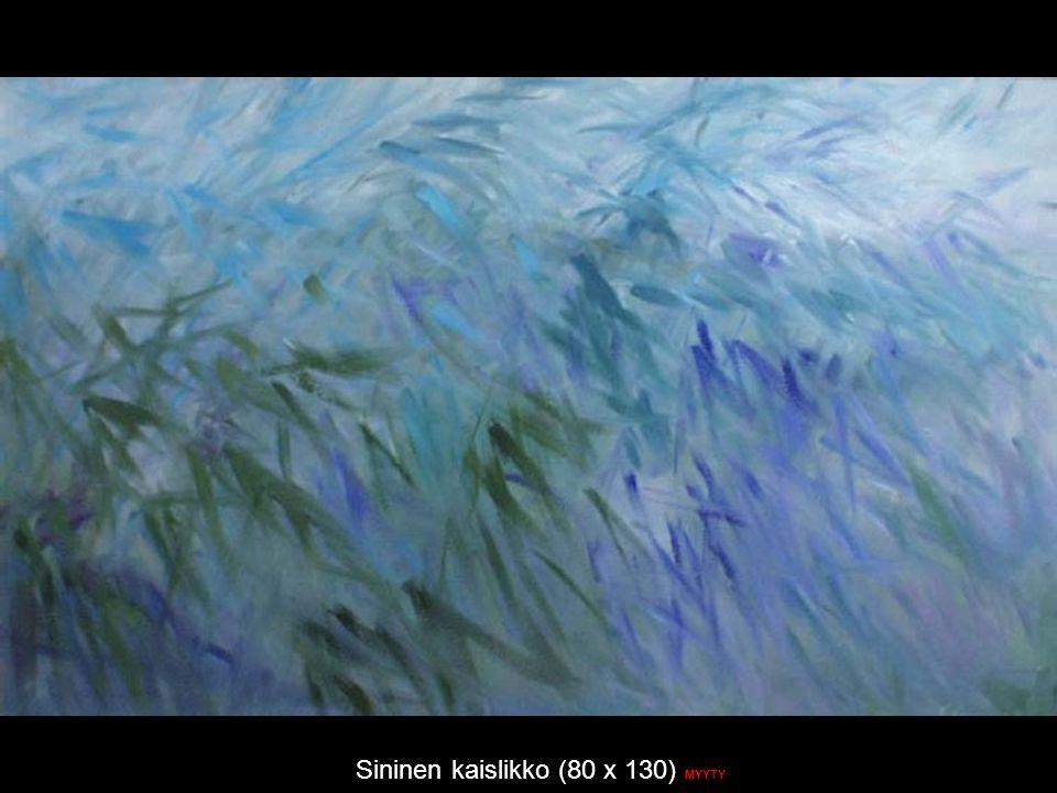 Sininen kaislikko (80 x 130) MYYTY