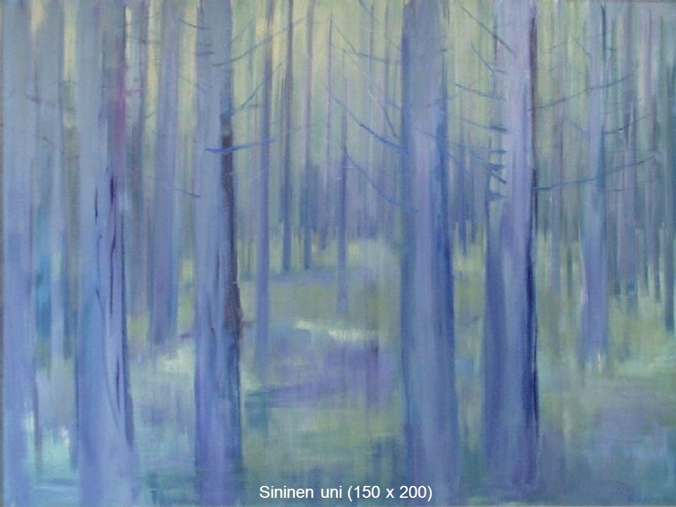 Sininen uni (150 x 200)