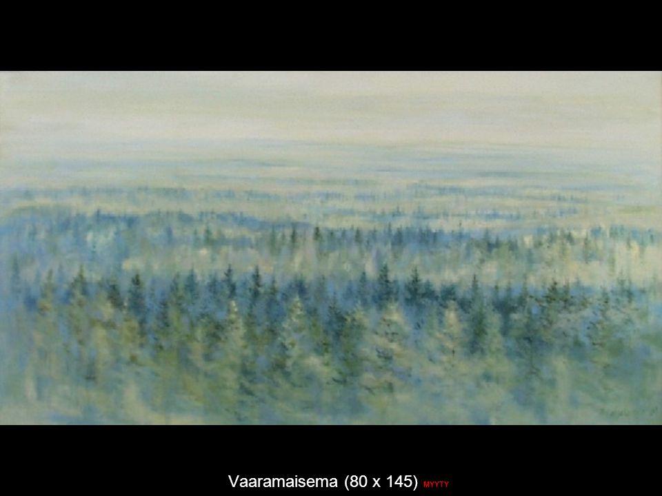Vaaramaisema (80 x 145) MYYTY