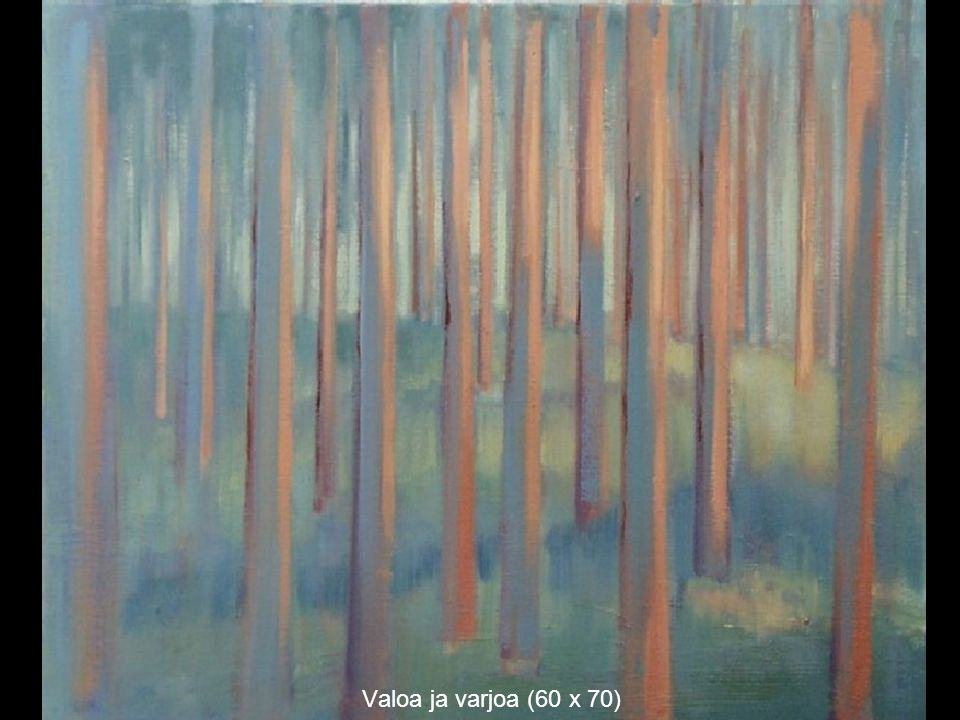 Valoa ja varjoa (60 x 70)