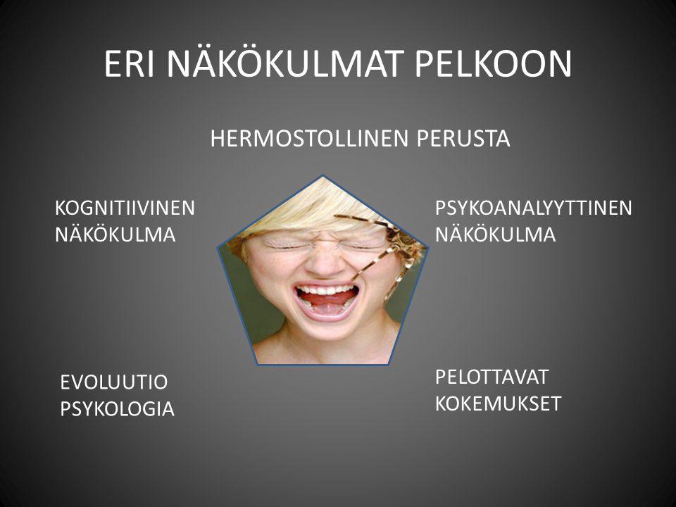ERI NÄKÖKULMAT PELKOON