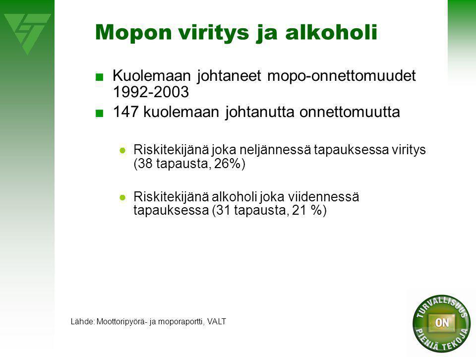 Mopoilun suosio näkyy mopokannan voimakkaana kasvuna - ppt lataa